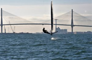 Voodoo International Moth Foil Testing in Cadiz